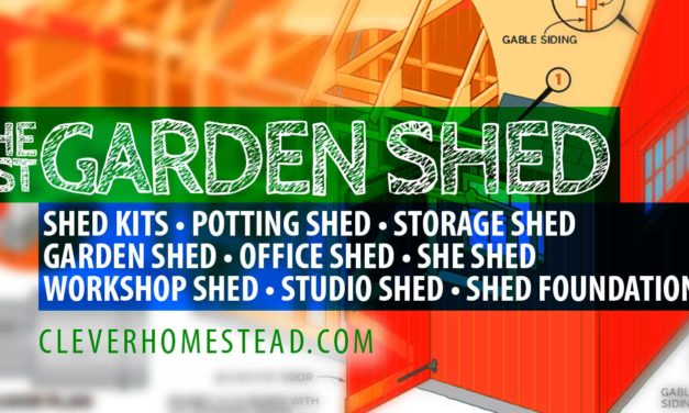 Your Best Shed (Amazing Guide): Kits, Plans, Garden Sheds, Office Sheds, She Sheds…