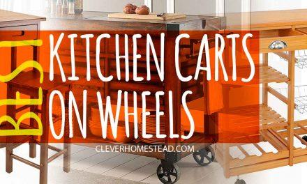 Best kitchen carts-islands on wheels (2020)